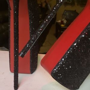 "Shoes - 12"" inch Platform Heels size 9US"